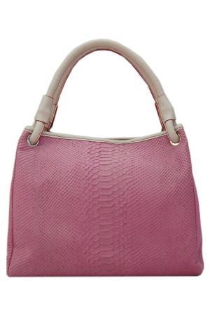 Сумка Plinio Visona. Цвет: pink, white