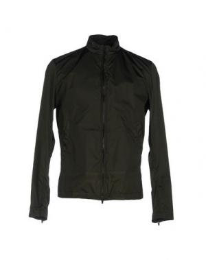 Куртка HEVÒ. Цвет: темно-зеленый