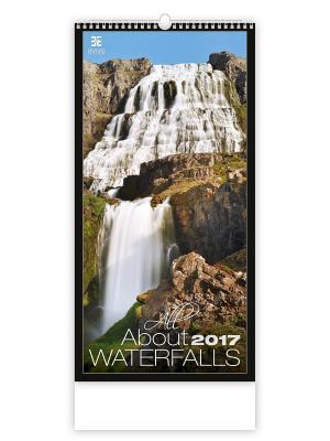 Календарь: All About Waterfalls (Все о водопадах) 8595230638694 ст.10 КОНТЭНТ. Цвет: белый