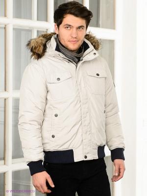 Куртка Christian Berg. Цвет: светло-серый