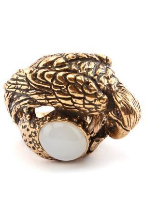 Кольцо ALCOZER. Цвет: золотой