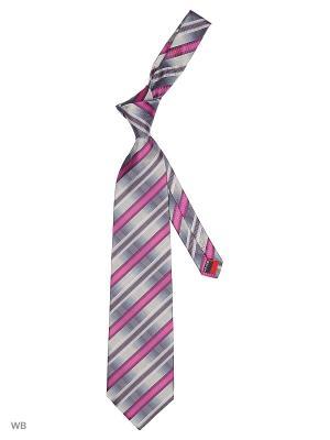 Галстук Stilmark. Цвет: серый, лиловый