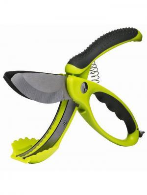 Ножницы для салата Sagaform. Цвет: зеленый