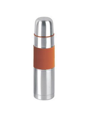 Термос металлический Satoshi. Цвет: серебристый, оранжевый