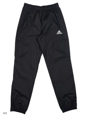 Трикотажные брюки дет. спорт. TIRO17 RN PNTY Adidas. Цвет: черный