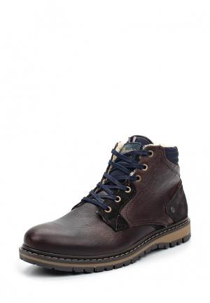 Ботинки Wrangler. Цвет: коричневый