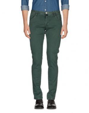 Повседневные брюки VERDERA. Цвет: зеленый