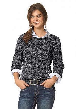 Пуловер FLG FLASHLIGHTS. Цвет: черный/белый