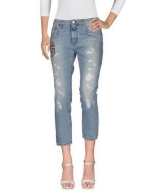 Джинсовые брюки GAËLLE. Цвет: синий