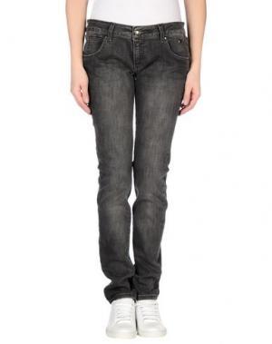 Джинсовые брюки ROŸ ROGER'S CHOICE. Цвет: свинцово-серый