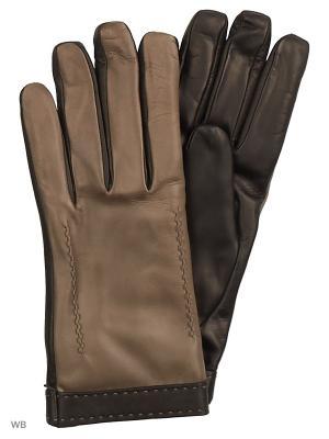 Перчатки MERCEDES-BENZ. Цвет: черный, серый