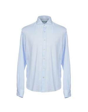 Pубашка BARBATI. Цвет: небесно-голубой