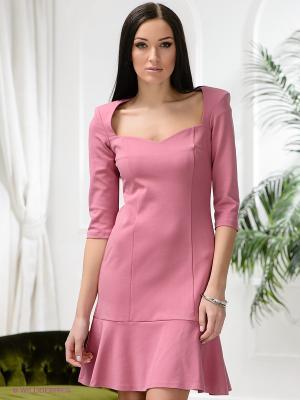 Платье Ksenia Knyazeva. Цвет: розовый