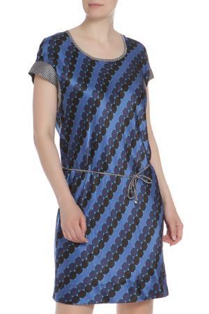 Платье LIU-JO. Цвет: синий