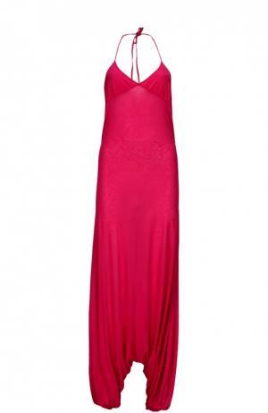 Платье L.G.B.. Цвет: малиновый