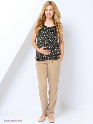 Блузка для беременных impressmama. Цвет: серый