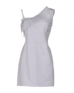 Короткое платье GATTINONI. Цвет: сиреневый