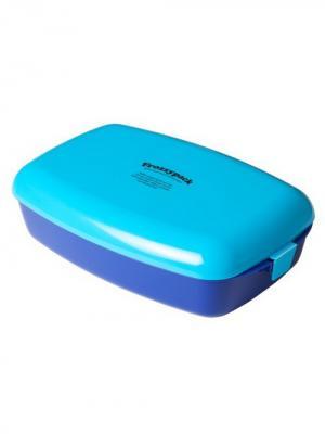 Контейнер с охлаждающим элементом Lurch. Цвет: голубой