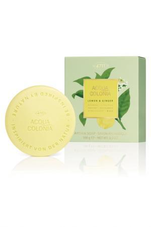 Мыло Lemon & Ginger, 100 гр 4711 ACQUA COLONIA. Цвет: прозрачный