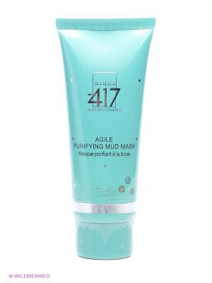 Косметическая маска грязевая очищающая Green Diamond Minus 417. Цвет: морская волна
