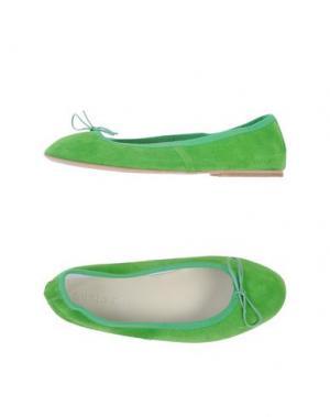 Балетки SUZIEMAS. Цвет: кислотно-зеленый
