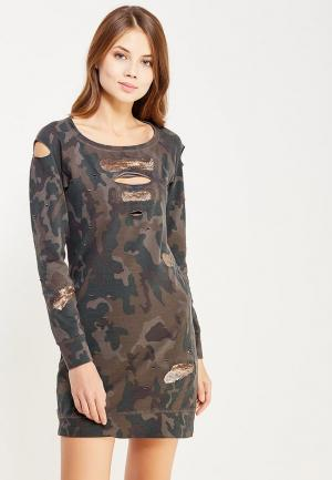 Платье Met. Цвет: хаки