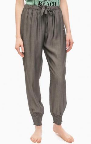 Серые домашние брюки с двумя карманами Jockey. Цвет: серый