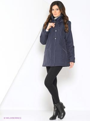 Куртка SUSU Maritta. Цвет: синий