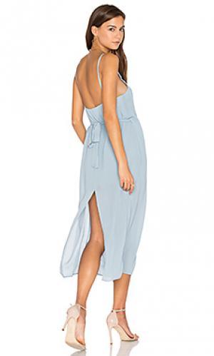 Платье-комбинация lazlo PFEIFFER. Цвет: синий