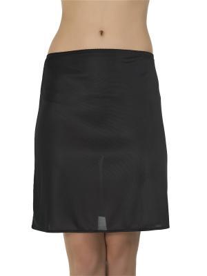 Нижняя юбка Kom. Цвет: черный