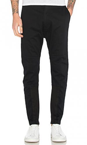 Back strap trousers Helmut Lang. Цвет: черный