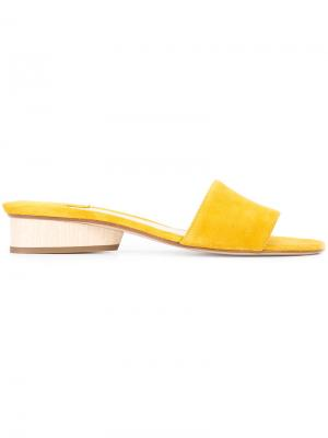 Сандалии Lina Paul Andrew. Цвет: жёлтый и оранжевый