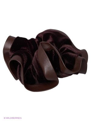 Резинки LA STRASA. Цвет: коричневый