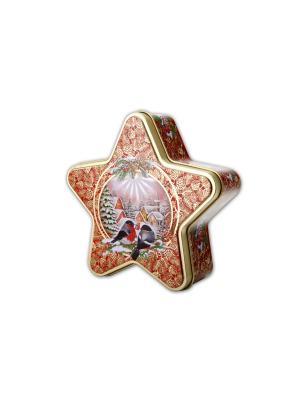 Чай Hilltop звёздочка Морозный рассвет Рождественский 100 гр.. Цвет: черный