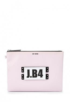 Клатч J.B4. Цвет: розовый