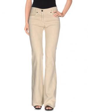 Джинсовые брюки FOURMINDS. Цвет: бежевый