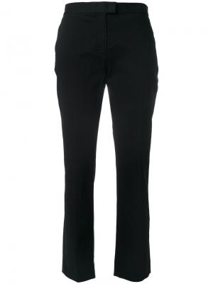 Укороченные строгие брюки Ps By Paul Smith. Цвет: чёрный