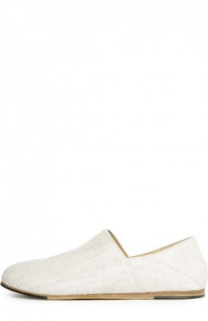 Домашние туфли O.X.S.. Цвет: белый
