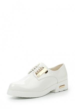 Ботинки Girlhood. Цвет: белый