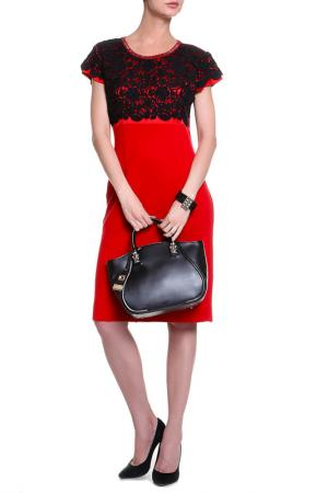 Платье Elisa Fanti. Цвет: красный