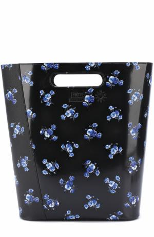 Сумка May flowers large Kenzo. Цвет: черный