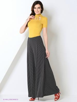 Блузка RUXARA. Цвет: горчичный
