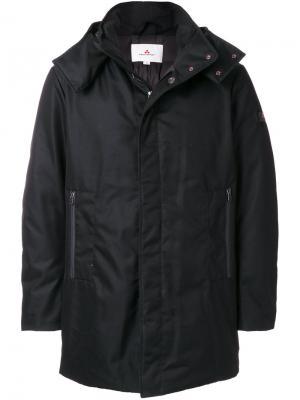 Стеганое пальто Piaza Peuterey. Цвет: чёрный