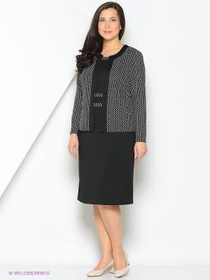 Комплект одежды Полина. Цвет: черный, белый