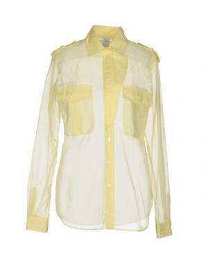 Pубашка PINKO UNIQUENESS. Цвет: желтый