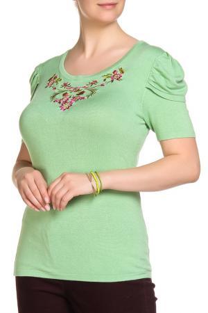 Пуловер LOLA PALTINGER. Цвет: зеленый