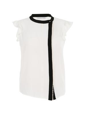 Блуза Caractere. Цвет: белый
