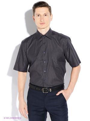 Рубашка Conti Uomo. Цвет: коричневый, черный