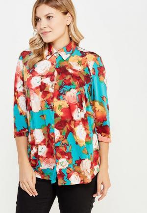 Блуза Olsi. Цвет: разноцветный