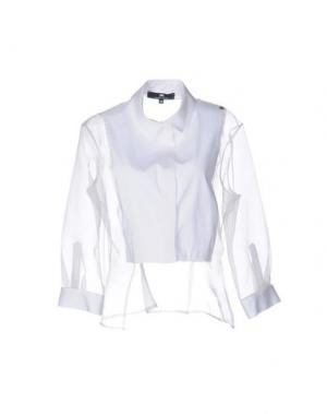 Pубашка ELISABETTA FRANCHI. Цвет: белый